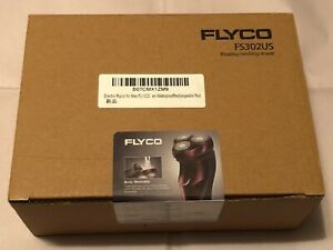 Flyco Electric Waterproof Rechargeable Floating Revolving Razor Shaver FS302US