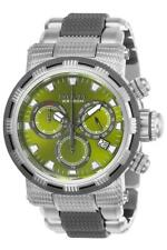 Invicta Specialty 23989 Men's Round Green Chronograph Day Date Analog Watch