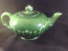 Woodfield Mid-Century Green TEA POT by Steubenville Pottery CHINA DISHWARE