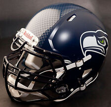 SEATTLE SEAHAWKS NFL Authentic GAMEDAY Football Helmet w/ S3BDU Facemask