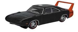 Oxford Diecast 1/87 Ho Scala 1969 Dodge Caricabatterie Datona IN Nero e Rosso