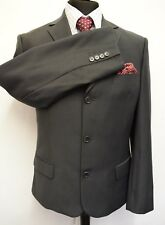 MS2613 BALMAIN MEN'S GREY SUIT  BLAZER JACKET SIZE 40L
