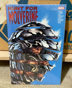 MARVEL THE HUNT FOR WOLVERINE Deluxe HARDCOVER Factory Sealed NEW!