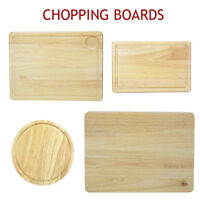 Chopping Board Wooden Cutting Boards Meat Slicing Pastry Round Bread You Butcher