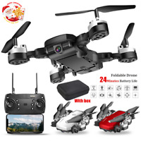 Foldable WIFI  FPV RC Quadcopter Drone 1080P HD Camera Selfie Drone Christmas