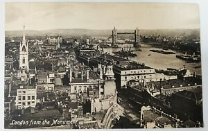 Postcard - London From The Monument. Valentine's Series. Printed in GB