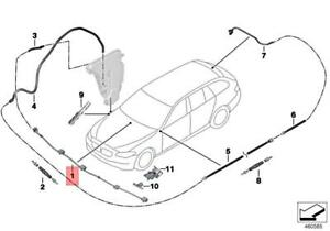 Genuine BMW X5 E70 X5 3.0d Nozzle Chain Windscreen Washer System 61667275171
