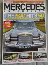 Mercedes Enthusiast Feb 2013 Issue 136 W100 600, SLS AMG Roadster