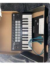 More details for novation launchkey mini mk3 25 mini-key midi keyboard controller