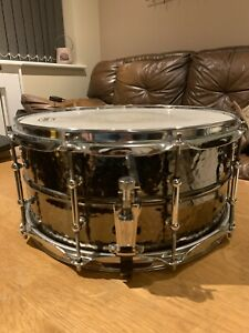 """Ludwig Black Beauty snare drum 14 x 6.5"""""""