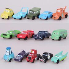 14pcs Disney Pixar Cars Lightning McQueen Mater Sally Action Figure Play set Toy