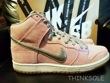 NIKE DUNK HIGH PRO PREMIUM SB WHEN PIG FLY 554673-610 SIZE 10 CONCEPT PINK