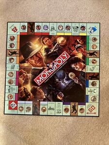 Indiana Jones Limited Edition Monopoly Board Game Excellent Complete! Parker Bro