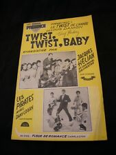 Partition Twist Twist Baby Hélian Les Pirates Fleur de romance  Music Sheet