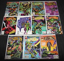 Marvel Green Goblin #2-6, 8-13 - 11pc Mid-High Grade Comic Lot Vf-Nm Spider-Man
