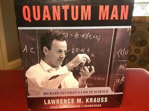 Quantum Man by Lawrence M. Krauss 2011 Unabridged CD 9781441780256