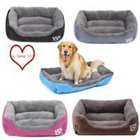 Extra Large Dog Cat Puppy Pets Bed Basket Mat House Waterproof Warm Soft Fleece