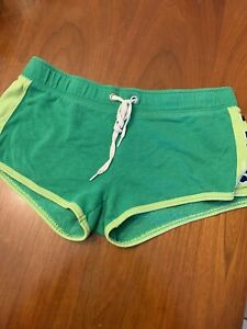 Victoria's Secret PINK Sweatpant Shorts Green Sz. M