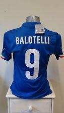 BNWT Italy Home Football Shirt Jersey 2014-2015 BALOTELLI 9 Small