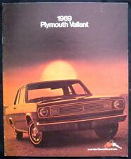 PLYMOUTH VALIANT LF USA Voiture sales brochure 1969 #8-68