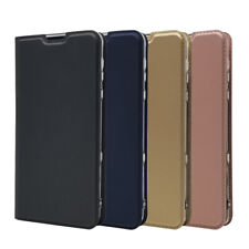 For Sharp AQUOS R3 Magnetic Leather Flip Wallet Phone Case Protector Cover New