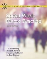 Social Work Macro Practice 6th Edition by Steve L. McMurtry Paperback Textbook
