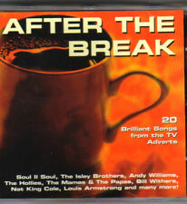 AFTER THE BREAK CD 1997 20 SONGS FROM ADVERTS COMPACT DISC (1997)