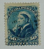 DC: Canada Scott #47 used, 2009 Scott Value = $85