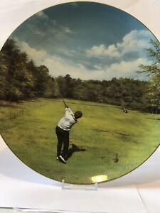 golfing Classic - Wentworth - Coalport Commemorative -  Cabinet Plate