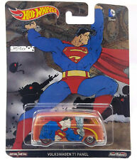Hot Wheels Dc Comics Superman Volkswagen T1 Panel Van Real Riders