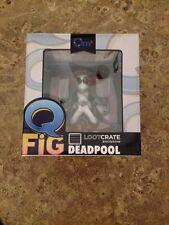 Deadpool Q-Fig Vinyl Figure - X-Force Variant - Quantum Mechanic Loot Crate Excl
