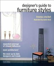 Fashion: Designer's Guide to Furniture Styles by Treena M. Crochet (2012, Paper…