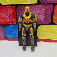 "McFarlane Halo Reach UNSC Airborne Spartan Mark V B Yellow 5.5"" Figure used"