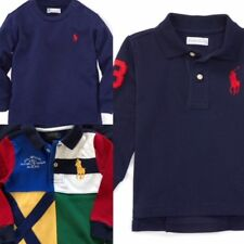NWT Ralph Lauren Baby Boy Set of 3 - Polo Shirt + Polo Shirt + Tee, 18 mo., NEW!