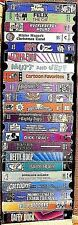 22 CARTOON/ANIMATED VHS TAPES FOR THE KIDS>VERY GOOD COND.>*FREE U.S. SHIPPING**