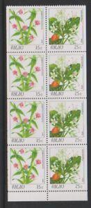 Palau - 1987, 15c & 25c, Blumen Broschüre Im Bereich - MNH - Sg 177, 179