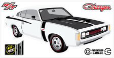 New! Collectable Chrysler VH Valiant Charger R/T - WHITE