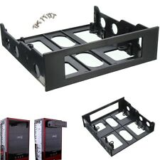 3.5'' to 5.25'' Computer Drive Bay Case Adapter Mounting Bracket USB Hub Floppy