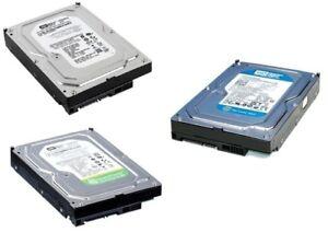 Western Digital 3,5 Zoll SATA PC Festplatte 160 250GB 320GB 500GB 1000GB 1TB 2TB