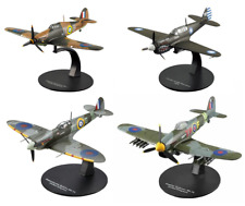 Lot de 4 Avions WW2 Britanniques RAF 1/72 militaire diecast DeAgostini