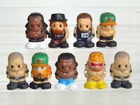 WWE Ooshies Wrestling Figures x 9 Bray Wyatt Kevin Owens Kofi Cena Randy Booker