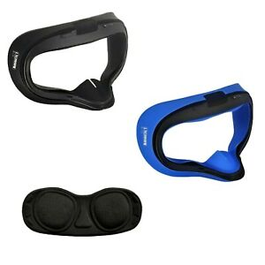 Amaz247 Silicon Mask Cover & Lens Cover Set for Oculus Quest 1 VR Headset