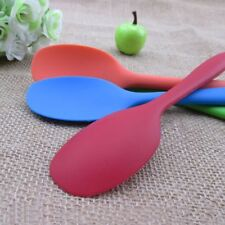 Solid Kitchen Heat Stirring 1 Pcs Serving Silicone Mixing Cooking Spoon
