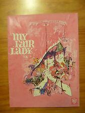 MY FAIR LADY MOVIE PROGRAMME 1964....WARNER BROS...AUDREY HEPBURN...REX HARRISON