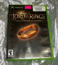 Lord of the Rings: The Fellowship of the Ring (Microsoft Xbox, 2002)