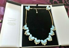 NECKLACE - SUITE OF DESIGNER JEWELLERY COMPRISING STUNNING NECKLACE AND EARRINGS