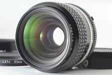 【N.MINT】 Nikon Ai-s Nikkor 35mm F2 AIS Wide Angle MF Lens w/ Hood From Japan 135