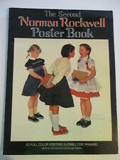 The Second Norman Rockwell Poster Book 1977 Watson-Guptill