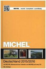 Michel-Deutschland Briefmarkenkatalog 2015/2016 mit CD-ROM / unbenutzt+neuwertig