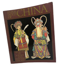 Paper Dolls of China Book 1983 Uncut Unused Museum of Science Punch out Dolls